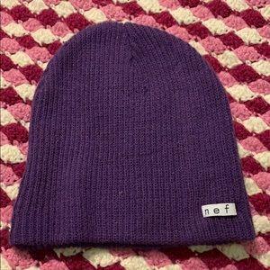 Purple Neff Beanie